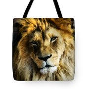 Its Good To Be King Portrait Illustration Tote Bag