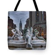 Its Icy In Philly Tote Bag