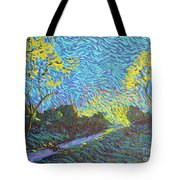 It's Just Over The Hill Tote Bag