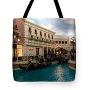 It's Not Venice - Gondoliers On The Grand Canal Tote Bag