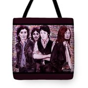 It's Only A Northern Song Bordered Tote Bag