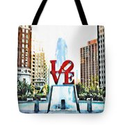 It's Only Love Tote Bag