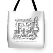 It's Oscar Time - There's That Special Tingle Tote Bag
