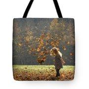 It's Raining Leaves Tote Bag