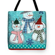 It's Snowtime Tote Bag