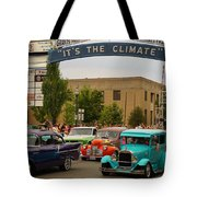 Its The Climate For A Cruise Tote Bag
