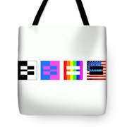It's Time - Equal Rights For All By Sharon Cummings Tote Bag by Sharon Cummings