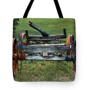 Its Work Is Done Tote Bag