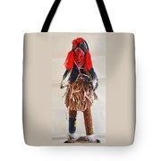 Ivory Coast Native Katchina Doll Tote Bag