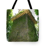 Ivy Along The Watchtower Tote Bag