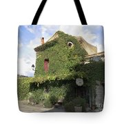Ivy Covered Cottage Tote Bag
