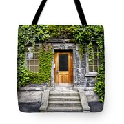 Ivy Covered Doorway - Trinity College Dublin Ireland Tote Bag