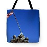 Iwo Jima Memorial At Arlington National Tote Bag