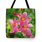 Ixia Flower Tote Bag