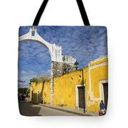 Izamal And It's Famous Arch Tote Bag
