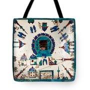 Iznik Kaaba Tote Bag