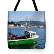 J B P Leaving The Harbour Tote Bag