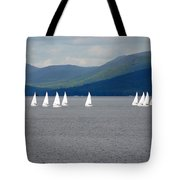 J Boats Lake George N Y Tote Bag