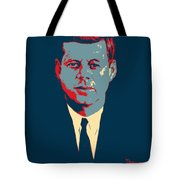 J F K In Hope Tote Bag