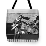 J. Geils On Stage In Oakland 1976 Tote Bag