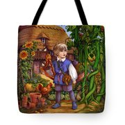 Jack And The Beanstalk By Carol Lawson Tote Bag