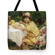 Jack In The Garden Tote Bag by Giacomo Grosso