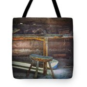 Jack London's Log Cabin Tote Bag