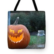 Jack O Lan Tern Tote Bag