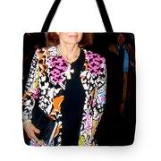 Jackie Kennedy Onassis 1990 Tote Bag