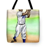 Jackie Robinson Tote Bag by Mel Thompson