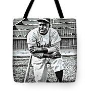 Jackie Robinson Painting Tote Bag