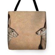Jackrabbits Tote Bag by James W Johnson