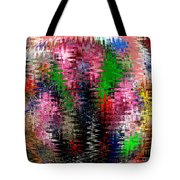 Jacks And Marbles Abstract Tote Bag