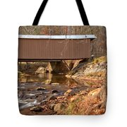 Jacks Creek Bridge Over Smith River Tote Bag