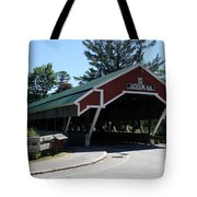Jackson Covered Bridge Nh Tote Bag