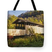 Jackson Mill Covered Bridge Tote Bag