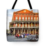 Jackson Square Reading Tote Bag