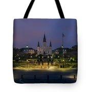 Jackson Square Sunrise Tote Bag