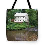 Jacksons Mill In The Rain Tote Bag