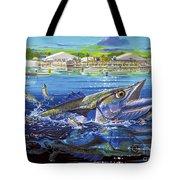 Jacksonville Kingfish Off0088 Tote Bag