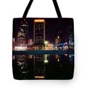 Jacksonville Panoramic Tote Bag