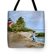 Jacob At East Point  Tote Bag