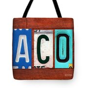 Jacob License Plate Name Sign Fun Kid Room Decor. Tote Bag