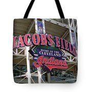 Jacobs Field - Cleveland Indians Tote Bag