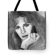 Jacqueline Bisset In 1983 Tote Bag by J McCombie