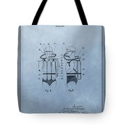 Jacques Cousteau Diving Suit Patent Tote Bag