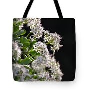 Jade Plant Flowers Tote Bag
