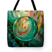Jaded Jewels Tote Bag by Robin Moline