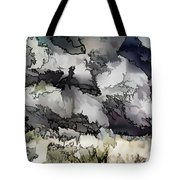 Jagged And Flowing Tote Bag