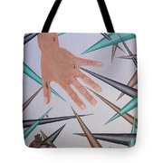 Jagged Edge Tote Bag